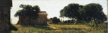 Odoardo Borrani, Case di Pannocchio a Castiglioncello