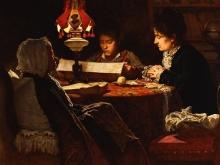 Odoardo Borrani, Il dispaccio della sera 9 gennaio 1878