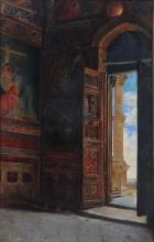 Borrani, Interno di chiesa.jpg