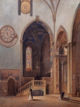 Borrani, L'interno di Santa Maria Novella.jpg
