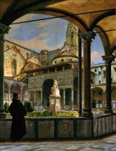 Odoardo Borrani, La cappella dei Pazzi