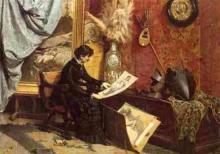 Borrani, Nello studio dell'artista.jpg