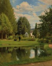 Borrani, Passeggiata in giardino.jpg