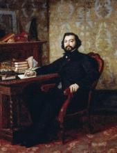 Odoardo Borrani, Ritratto dell'avvocato Aristide Minelli