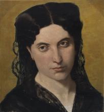 Odoardo Borrani, Ritratto della seconda moglie