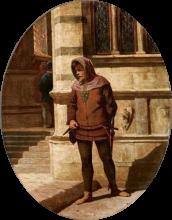 Odoardo Borrani, Un agente dei Medici