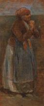 Borrani, Una vecchia signora che prega