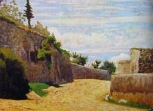 Odoardo Borrani, Via San Leonardo