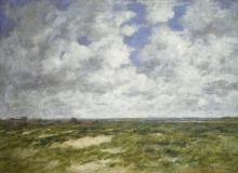 Eugène Louis Boudin, Berck, paesaggio nuvoloso | Berck, cloudy landscape