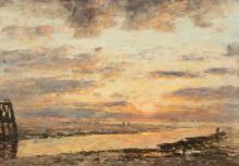 Eugène Louis Boudin, Dintorni di Trouville | Environs de Trouville | Surroundings of Trouville