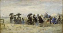 Boudin, Figure sulla spiaggia | Figures sur la plage | Figures on the beach