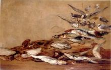 Eugène Louis Boudin, Gabbiani e pesci | Seagulls and fishes