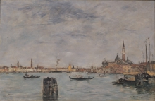 Boudin, Il Canal Grande | Le Grand Canal | The Grand Canal