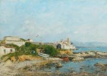 Boudin, Il Forte ad Antibes.jpg