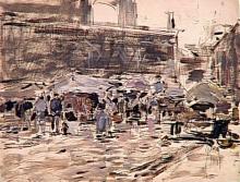 Boudin, Il mercato di Dieppe.jpg