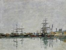 Boudin, Il molo a Le Havre.jpg