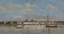 Boudin, Il molo ad Anversa | Le quai à Anvers | The quay at Antwerp