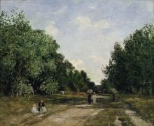 Eugène Louis Boudin, Il parco Cordier a Trouville   Le parc Cordier à Trouville   El parc Cordier a Trouville