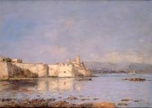 Eugène Louis Boudin, Il porto di Antibes   Le port d'Antibes