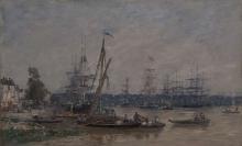 Boudin, Il porto di Bordeaux | Le port de Bordeaux | Harbor at Bordeaux