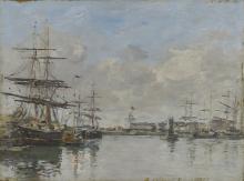 Boudin, Il porto di Le Havre [1885-1890 circa].png