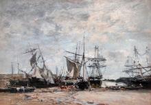 Boudin, Il porto di Portrieux [1873].jpg