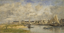 Boudin, Il porto di Trouville | Le port de Trouville | Trouville harbour
