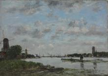 Boudin, La Mosa a Dordrecht.jpg