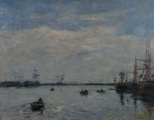 Boudin, Le Havre. Il bacino dell'Eure.jpg