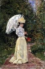 Boudin, Madame Juliette in giardino.jpg
