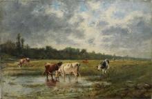 Boudin, Mucche al pascolo