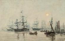 Boudin, Porto di Bordeaux [1875].jpg