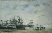 Boudin, Porto di Portrieux.jpg