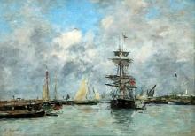 Boudin, Porto di Trouville [1880].jpg