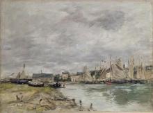 Boudin, Porto di Trouville [1891].jpg