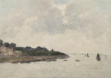 Eugène Boudin, Saint Valery sur Somme. La foce della Somme | Saint Valéry sur Somme. L'embouchure de la Somme