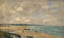 Boudin, Spiaggia di Trouville [1893].jpg