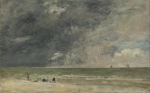 Boudin, Spiaggia di Trouville [anni 1890].png