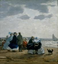 Boudin, Sulla spiaggia, Dieppe.jpg