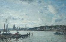 Boudin, Traghetto di Deauville.jpg
