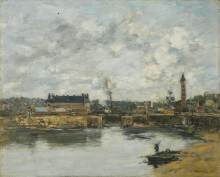 Boudin, Trouville, il porto | Trouville, le port | Trouville, the harbour