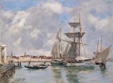 Boudin, Venezia, Il Canal Grande | Venise, le Grand Canal | Venice, the Grand Canal | Venecia, el Gran Canal