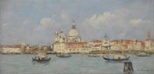 Eugène Louis Boudin, Venezia, la Dogana e la Salute | Venise. La Douane et Notre-Dame-de-la-Salute | Venice. The Dogana and the Salute