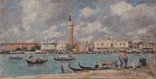 Eugène Louis Boudin, Venezia. San Giorgio | Venise. San Giorgio | Venice. San Giorgio