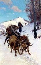 Stefano Bruzzi, Difficile camminare sulla neve