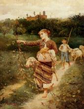 Stefano Bruzzi, I raccoglitori d'uva