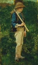Stefano Bruzzi, Il giovane taglialegna