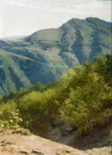 Stefano Bruzzi, L'Appennino nei pressi di Roncolo di Groppallo