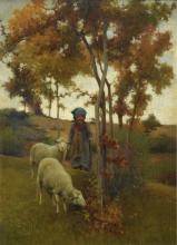 Stefano Bruzzi, La pastorella e il suo gregge