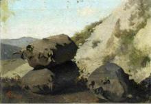 Stefano Bruzzi, Studio di rocce